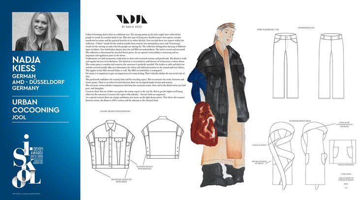 #isko #iskool #denim #project #sketches #denimlovers #designAward #shortlisted #finalist #AmdDusseldorf