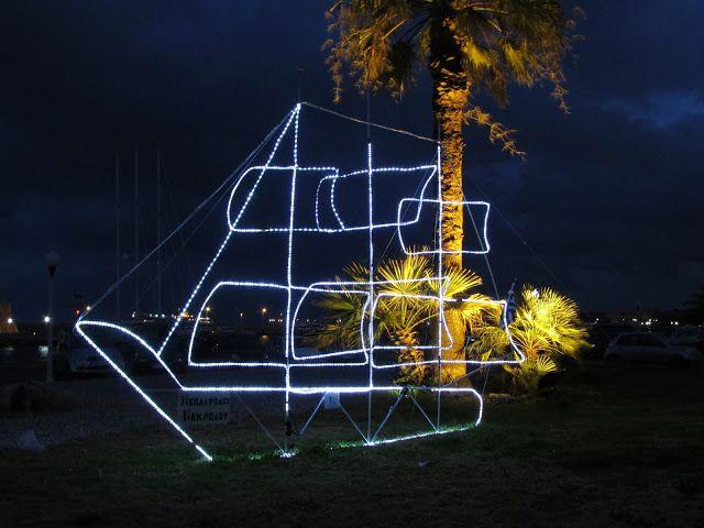 Wyspa Rodos : Grecki zwyczaj dekorowania statku