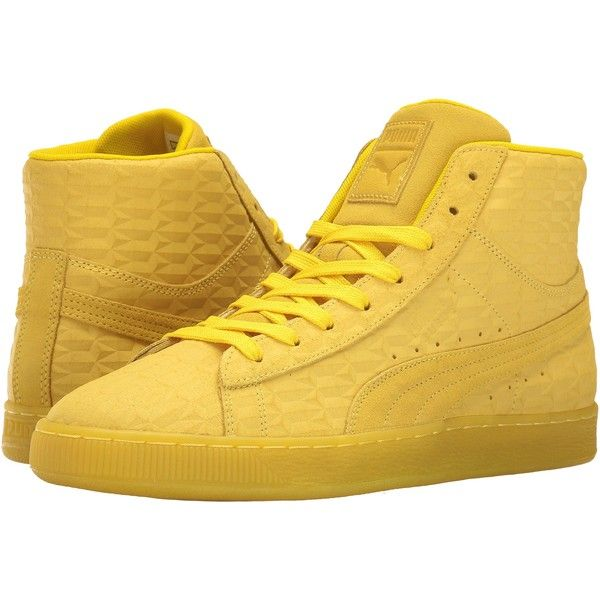 PUMA Suede Mid Me Iced (Buttercup/White