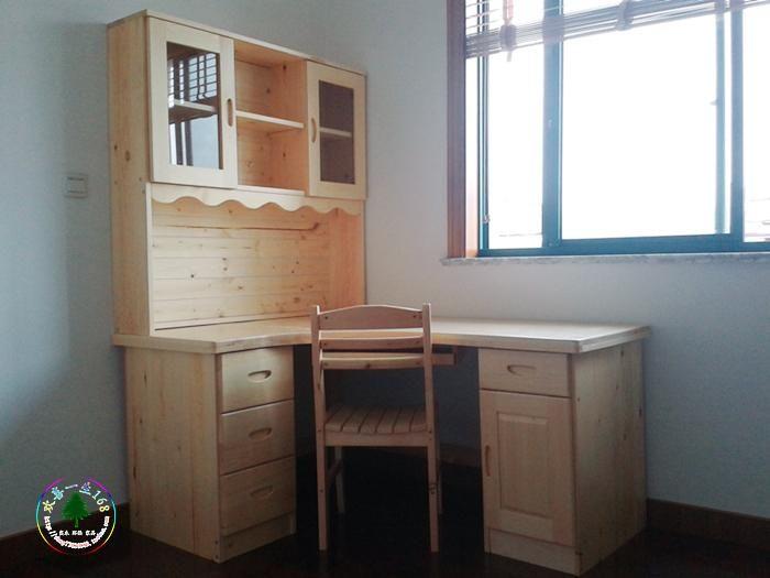Todos los muebles de madera maciza de pino pino escritorio - Escritorio de pino ...