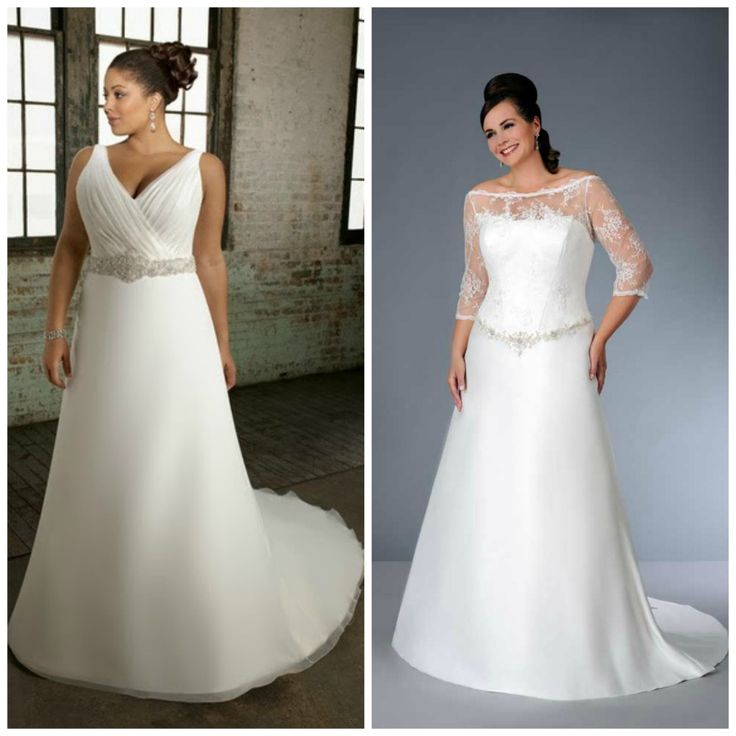 17 Best Images About Wedding Dresses For Curvy Brides On Pinterest