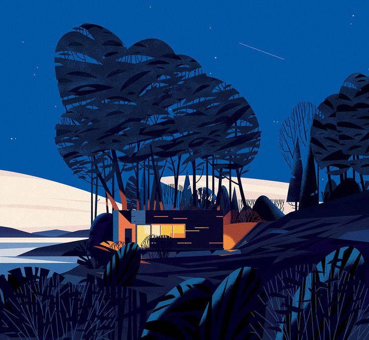 Cabins By Cruschiform A Series Of 60 Chapter Opening Illustrations For An  Architecture Book By Philip Jodidi.