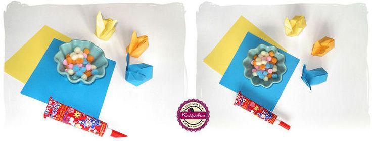 origami bunny diy