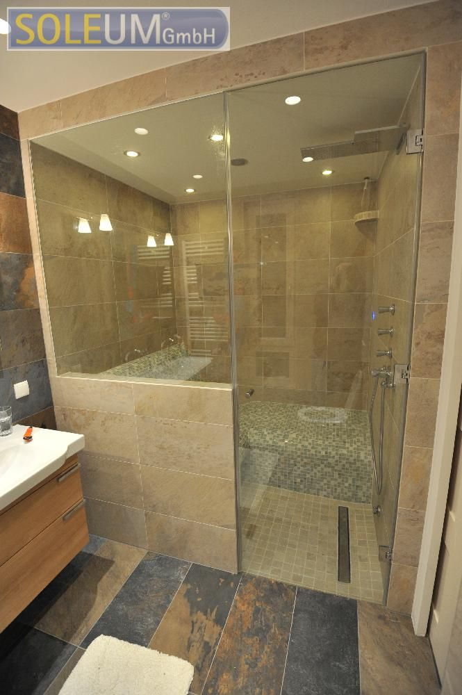 94 best dampfbad spa design steam rooms images on pinterest. Black Bedroom Furniture Sets. Home Design Ideas