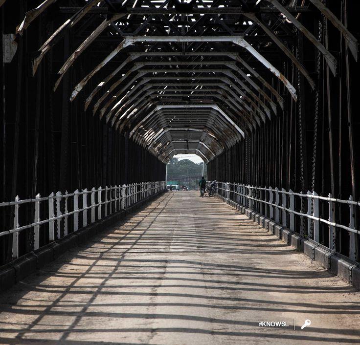 The old Kallady Bridge is both the oldest and longest iron bridge in Sri Lanka #KnowSL #SriLanka #Batticaloa #SriLankaTravel Copyright © Crintech Pvt Ltd.