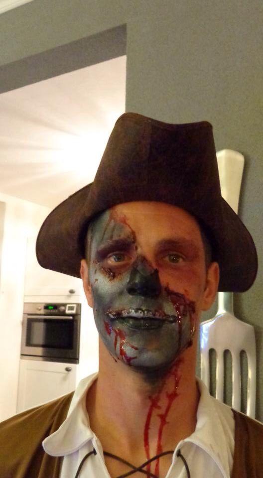 StudioMyDream #schmink #piraat #make-up #Nijkerk #Mariskaham
