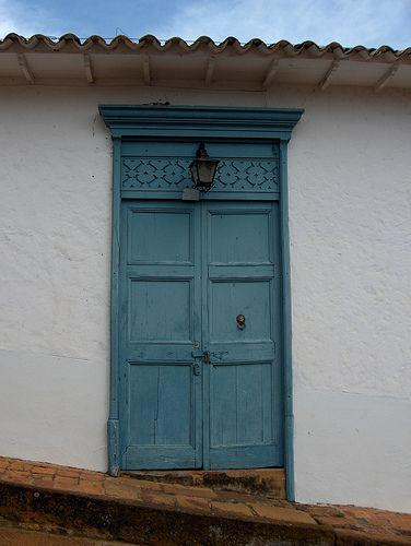 Colonial Door, Barichara, Colombia
