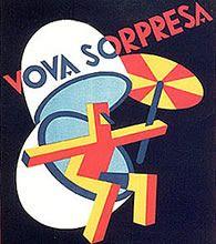 Locandina pubblicitaria di Depero per Cioccolato Unica, 1927. Fonte: www.depero.it
