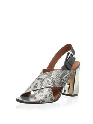 80% OFF Rebecca Minkoff Women's Pina Sandal (Grey)