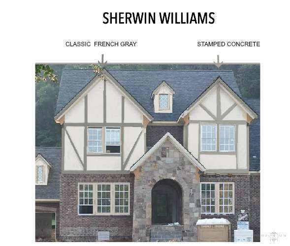 Thanks to the Sherwin Williams Color Visualizer, picking the perfect gray paint home color is easier than ever. This app is amazing!