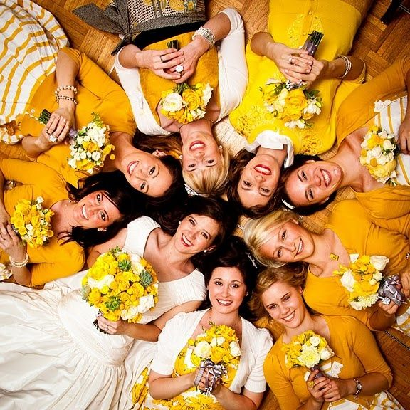 GALLERY: WEDDING PHOTOGRAPHY IDEAS | Raspberry Wedding: Yellow Bridesmaid, Photos Ideas, Wedding, Bride And Bridesmaid, Bridesmaid Photos, The Bride, Photos Shoots, Mustard Yellow, Photography Ideas