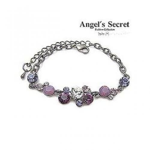 Butterfly Bracelet Purple - One Size