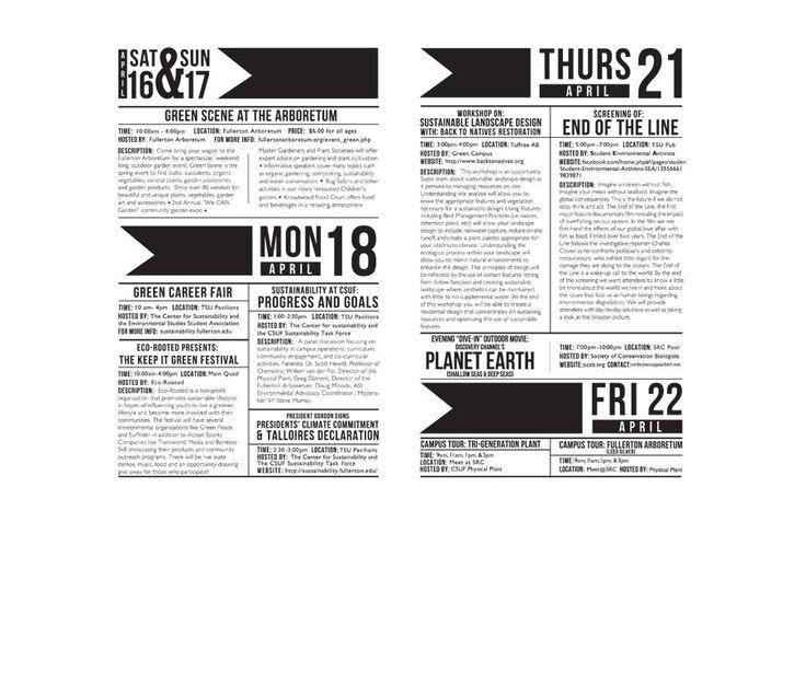 schedule design