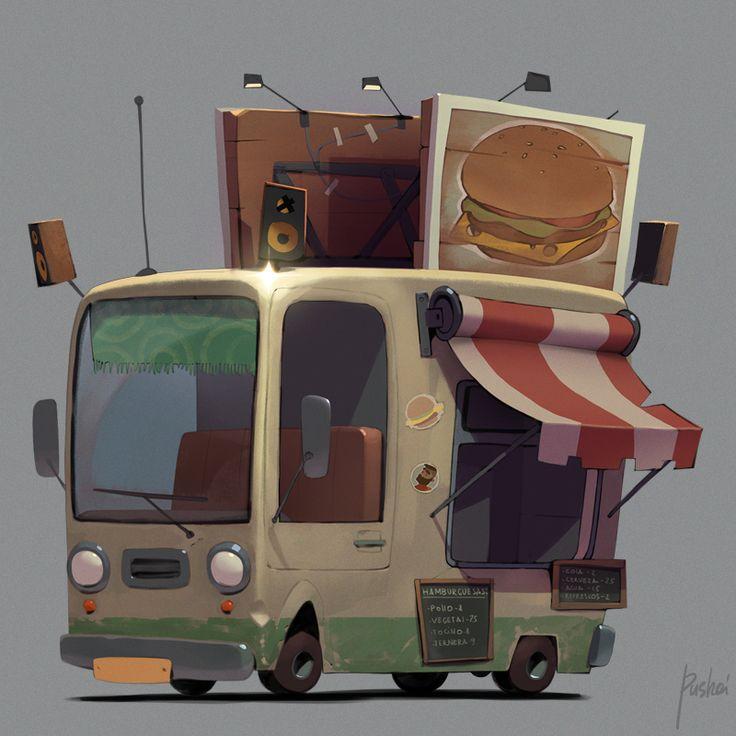 Cars concepts by Aleksandr Pushai