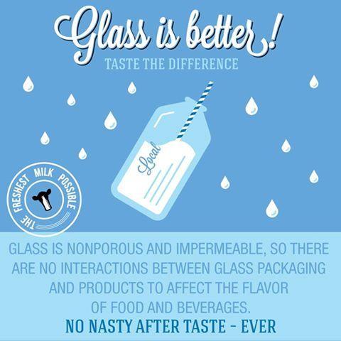 Danzeisen Dairy's knows why milk bottles are better.   www.drinkmilkinglassbottles.com  #MilkBottle #Facts #Dairy #Taste #Milk #Danzeisen