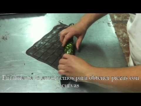Transfer para chocolate - Novapast.com - YouTube