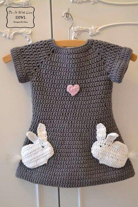 """Häkelanleitung Kleid """"Little l"""