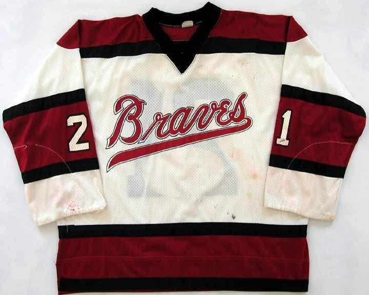 1973-74 Bill Corkery Boston Braves Game Worn Jersey - 1 Year Style