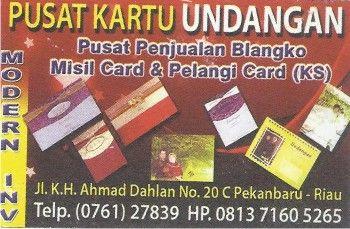 Pusat kartu undangan