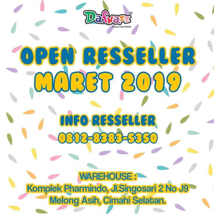 OPEN RESSELER😍 MARET 2019 Info resseler 081283835350