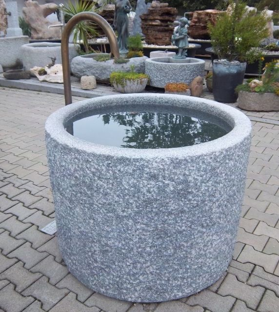 63 best Brunnen images on Pinterest Water fountains, Feel better - steingarten mit granit