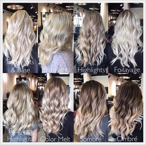 Blonde Hair Coloring Techniques Hair Color Techniques Blonde Hair Shades Hair Techniques