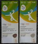 #Ticket  2 x TICKETS HB046 HANDBALL FINALE RIO 2016 OLYMPIC GAMES 21.08 #deutschland