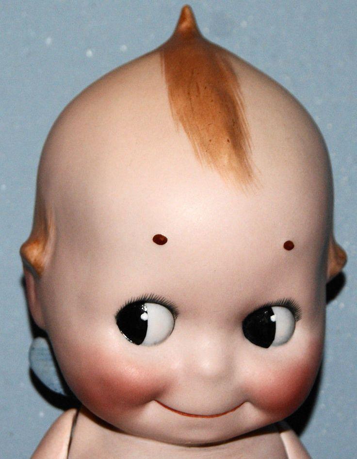 "Antique Doll Kewpie Doll Rose O'Neill Germany Bisque Kewpie EXTRA LARGE 12"" #RoseONeill #Kewpie"