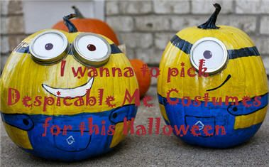 One of the easy movie #characterCostumes: Despicable Me; it is cute and definitely love by kids