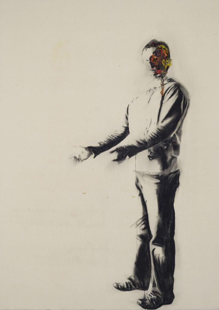 Autoportrait avec rien - Marc Séguin - Galerie Simon Blais - 5420, boul. St-Laurent, Montréal