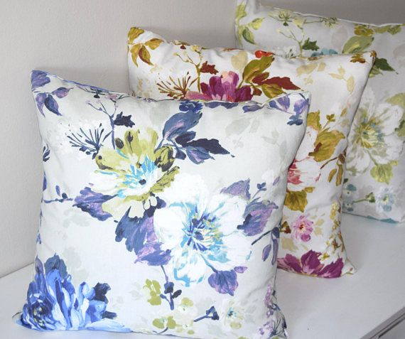 Floral Pillow Cover, Throw Pillow Cases, Flower Pillows, Floral Throw Pillow Cover, Sofa Pillow Case, Livingroom Pillow Cover, Accent Pillow