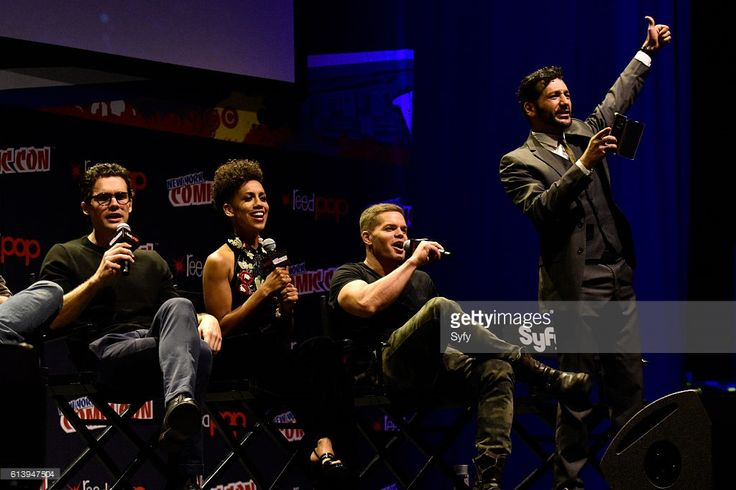 """Donkeyballs"" was the big shout word from Cas Anvar was at NYCC 2016. Awesome!! 👍"