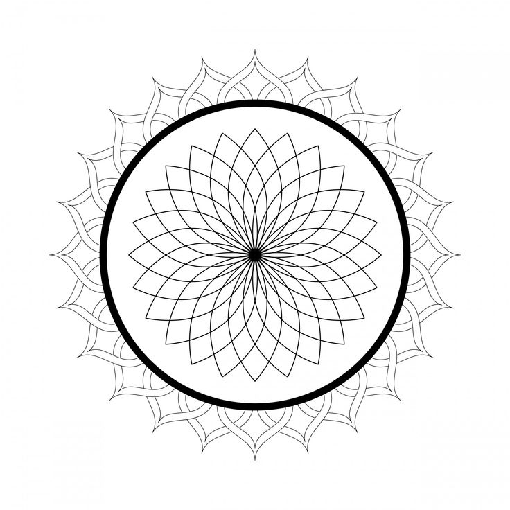 mandala coloring pages free printable adults coloring | Free Printable Mandala Coloring Pages For Adults ...