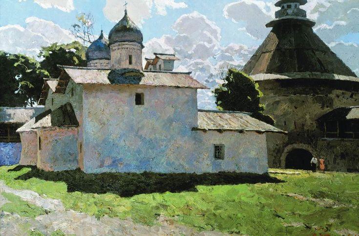 Стожаров. Псков. Покровская церковь