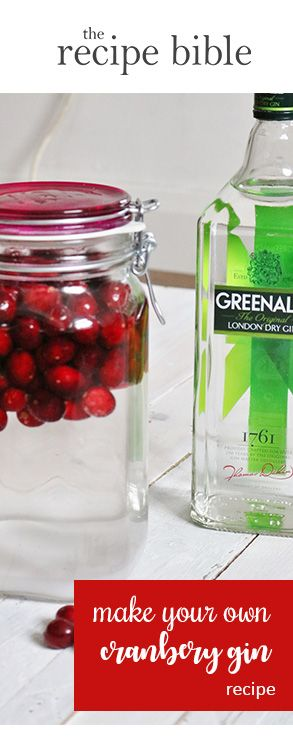 Get festive... make your own cranberry gin! Perfect stocking fillers for secret santa and friends. And gifts for gin lovers too!