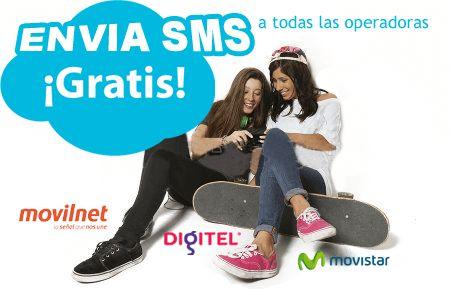 Enviar SMS Gratis, Envia SMS a movistar, movilnet y digitel. Gratis!