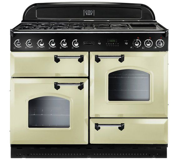 Buy Rangemaster Classic 110 Dual Fuel Range Cooker - Cream at Argos.co.uk, visit Argos.co.uk to shop online for Freestanding cookers, Cooking, Large kitchen appliances, Home and garden