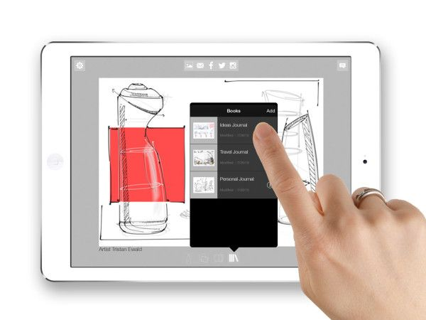 Journal by Morpholio, a sketchbook app with infinite possibilities