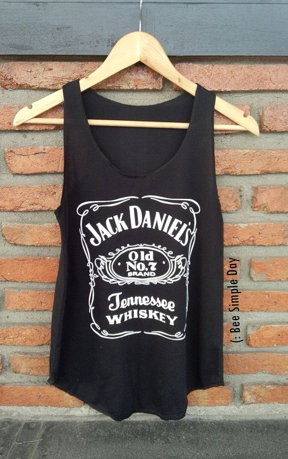 Hey, I found this really awesome Etsy listing at https://www.etsy.com/listing/238794053/black-jack-daniels-tank-top-hipster-tank