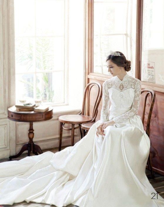 Muslim Wedding Dresses Houston : Muslim wedding dresses sleeve gowns g