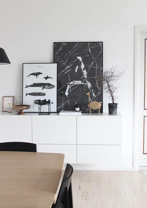 Johanne's lovely Aalborg apartment in monochrome