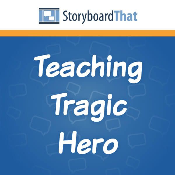 What is a tragic hero? With Aristotle's principles, bring the tragic hero to life! Activities include tragic hero examples using characteristics of a tragic hero  http://www.storyboardthat.com/articles/education/english/tragic-hero