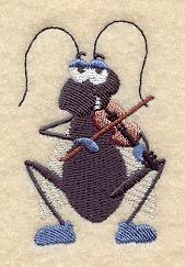 Fiddling Cricket
