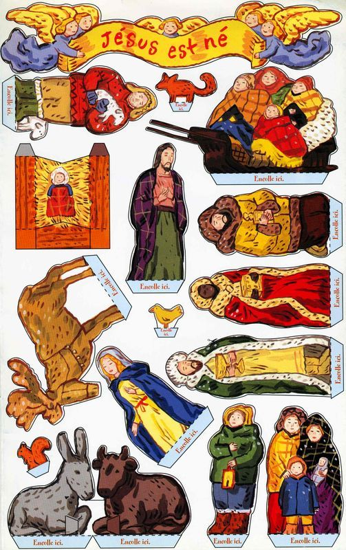 115 best paper doll nativity cutouts images on pinterest xmas christmas nativity and - Personnage creche de noel ...