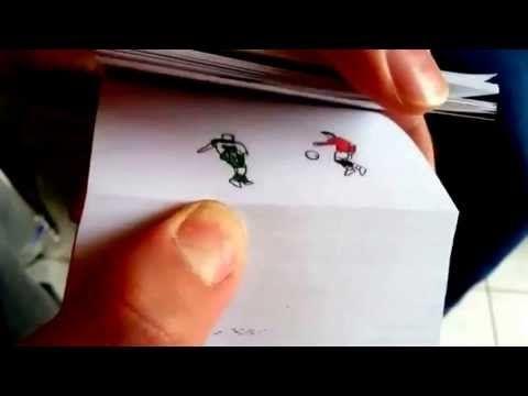 これはすごい!クリスティアーノロナウドのパラパラ漫画!
