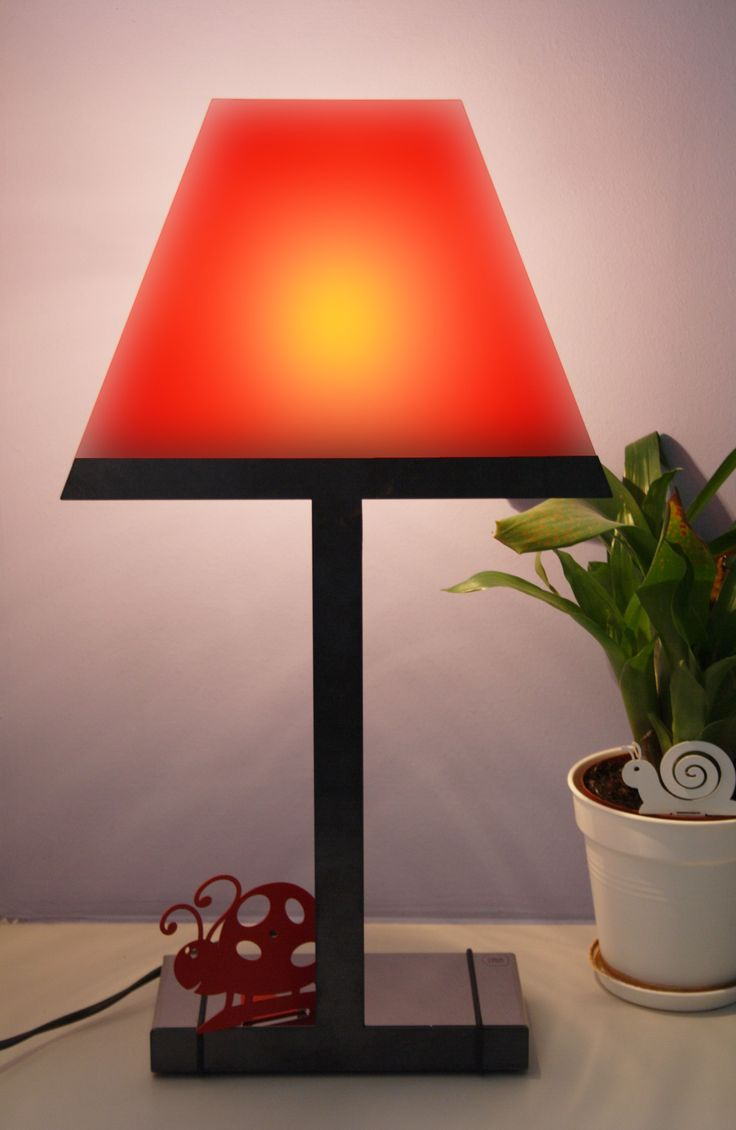 """""""2.D Decor"""", red steel   Caoscreo http://www.caos-shop.it/commerce/index.asp?idsz=321"""