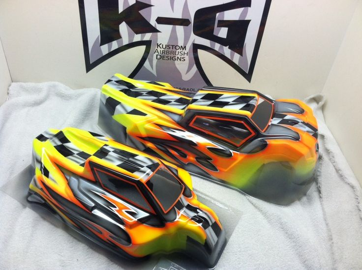 Best Bad Ass RC Cars Images On Pinterest Rc Cars Stencil - Custom vinyl decals for rc carsimages of cars painted with flames true fire flames on rc car