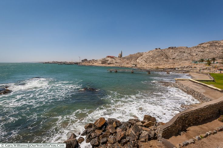 The bay in the morning,Lüderitz, Namibia