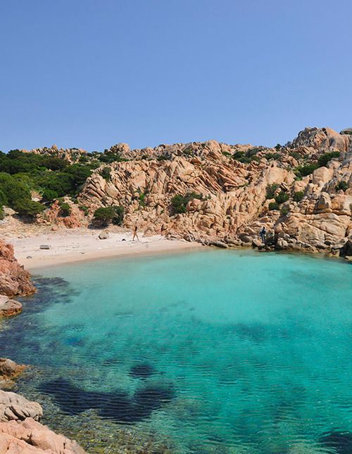 Beautiful Hidden Beaches | Caprera Island, Sardinia, Italy