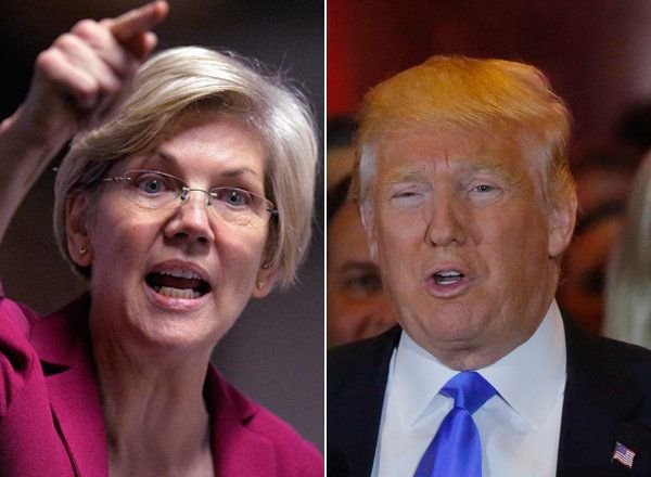 """Elizabeth Warren responds to """"hormonal"""" Donald Trump's latest attack with another glorious Twitter takedown: """"Your free ride is over"""""""
